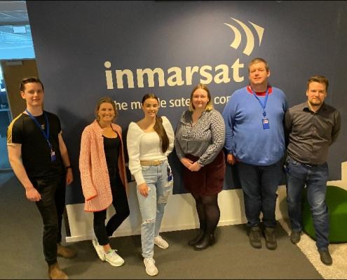 Inmarsat leier IT-kompetanse fra Spesialistbedriften